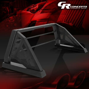 Heavy Duty Truck Bed Chase Rack Black Roll Bar For 05 18 Toyota Tacoma Styleside