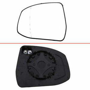Driver Side Left Door Wing Mirror Glass Heated For Ford Focus Ii 2008 Mondeo