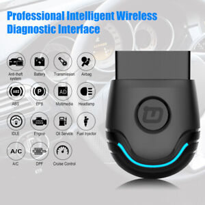 Bluetooth Obd2 Scanner Code Reader Full System Diagnostic Scan Tool For Bmw Mini