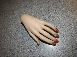 Vintage Mannequin Hand Left Nice Used Shape Free Shipping Inside The Us