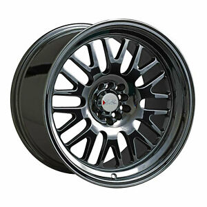 Xxr 531 15x8 4 100 4 4 5 0 Offset 73 1mm Bore Black Ml Wheel Rim