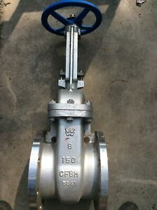 8 Williams Flanged Gate Valve Class 150 Stainless Steel