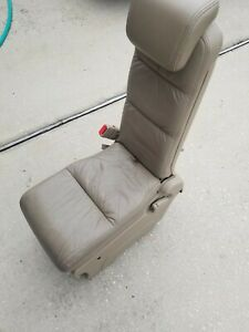 2005 2006 2007 2008 2009 2010 Honda Odyssey Center Jump Seat Tan Biege Leather