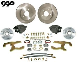 55 57 Pontiac Chieftain Star Chief Front Stock Spindle Disc Brake Conversion Kit