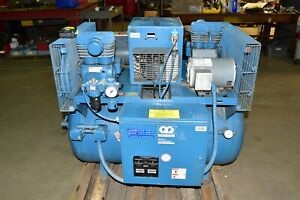 Quincy 60 Gallon Duplex Climate Control Air Compressor 3 Phase W hankinson Dryer