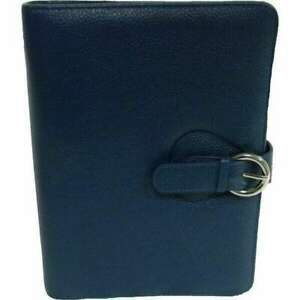Franklin Covey Leather Ava Binder Classic 7 5x9 5x1 2 inches Teal