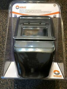 Hobart 770257 Welding Helmet With 2x 4 1 4 inch No 10 Shade Flip Lens New