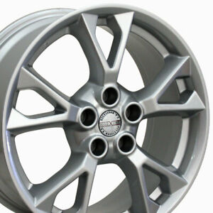 18 Rims Fit Nissan Infiniti Maxima Altima Silver Wheels 62582 Set