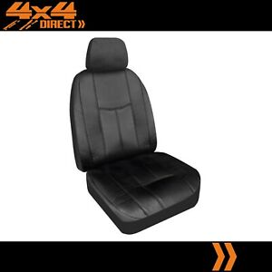 Single Waterproof Leather Look Seat Cover For Lancia Flaminia Gt