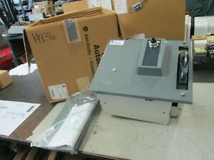 Allen Bradley Motor Control Center Unit W Fusible Disconnect Switch Feeder Used