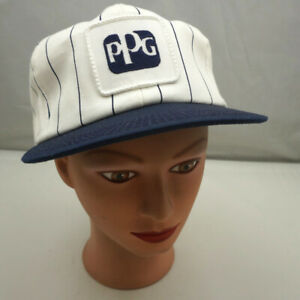 Ppg Hat White Stitched Snapback Baseball Cap Pre owned St212