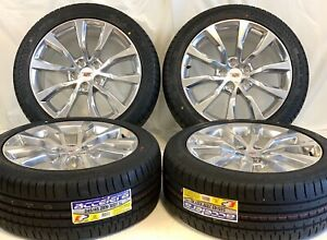 19 Cadillac Ct6 Xts Cts Factory Oem Wheels Rims Tires L h W Caps 2454519 102wxl