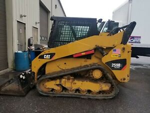 2014 Caterpillar 259b3 Skid Steer Rubber Track Loader Aux Hydraulics
