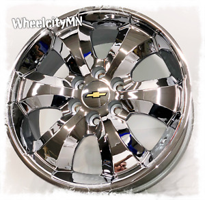 20 Inch Chrome 2013 Chevy Avalanche 1500 Tahoe Ltz Suburban Oe Wheels 6x5 5 22