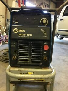 Miller Xmt 304 Cc cv Multiprocess Electric Welder With Auto link