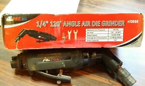 Ate Pro 120 1 4 Air Angle Die Grinder Cutting Grinding Pre Owned S02