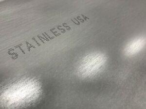 1 4 25 Stainless Steel Plate 1 4 x 3 x 12 304 Ss