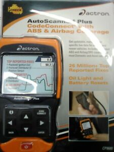 New Actron Cp9680 Auto Scanner Plus Codeconnect Withabs Airbag Coverage Sealed
