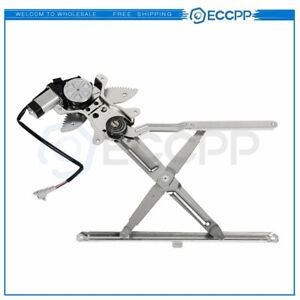 For 1995 2004 Toyota Tacoma Front Driver Side Power Window Regulator With Motor