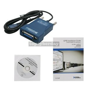 Gpib usb hs Interface Adapter National Instruments Ieee488 Data Acquisition Card