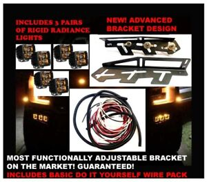 2017 2020 Ford Raptor Rigid Radiance Fog Lights Light Kit F 150 2019 Standard