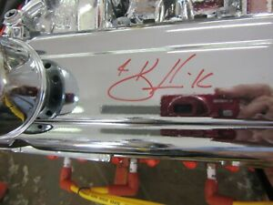 Signed By Kevin Harvick Chevy Small Block 409 One Of One 383 Stroker Engine