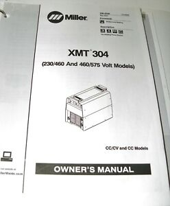 Miller Xmt 304 Cvcc Owner s Manual