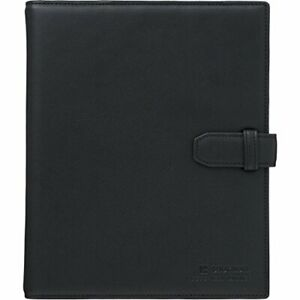 Jim King Shot Notebook Leather Loose leaf Binder A5 9182lb Black