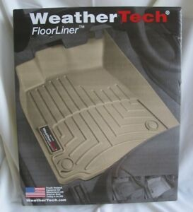 Weathertech 444781 Floorliner For Dodge Ram Truck Crew Mega Cab 1st Row Black