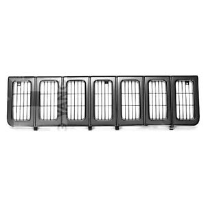 Front Grille Fits 1996 1998 Jeep Grand Cherokee 104 01543b V