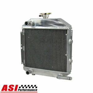 Asi Sba310100211 Full Aluminum Radiator With Cap For Ford Compact Tractor 1300