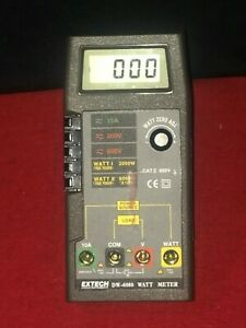 Extech Dw 6060 Digital Watt Meter