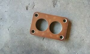 Phenolic Carb Spacer 1 2 Stromberg Ww Small Rochester 2g Holley 2110