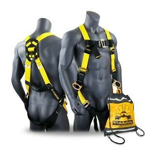 Kwiksafety Thunder 3d Ring Full Body Safety Harness Ansi Osha Fall Protection