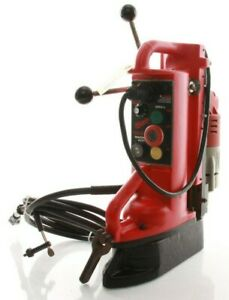 Milwaukee Mag Drill 1 2 Chuck 9 Travel Portable Electromagnetic Drill Press