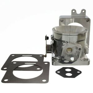 Accufab 80mm Mustang 5 0l Polished Throttle Body W Blank Spacer 302 Lx Gt Cobra