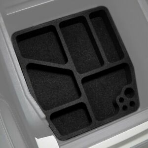 Fits Ford F250 Superduty 2017 19 Floor Center Console Organizers 3pc Anti Rattle