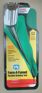Pig 18714 Large Flexible Draining Funnel Tool 22 Form A Funnel 036226187140