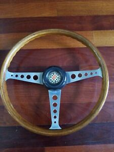 Refurbished 15 Formula Gt Speedwell Wood Steering Wheel Vw Beetle Ghia Type 3