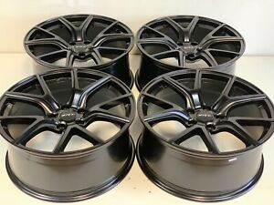 20 Jeep Grand Cherokee Trackhawk Fit Oem Orig Srt Rims Wheels Satin Black Set 4