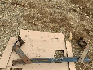 1950 Pontiac Silver Streak Hood Hinges And Cross Bar