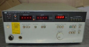 Hp 4193a Vector Impedance Meter 0 4 110mhz a1