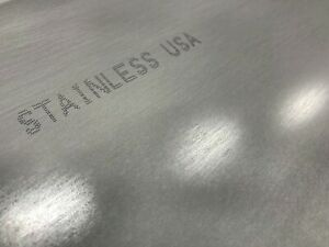 1 4 25 Stainless Steel Plate 1 4 x 12 x 24 304 Ss
