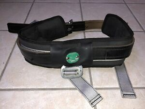 Buckingham 6263 Leather Climbing Linemans Belt Made In Usa Size Large Gently