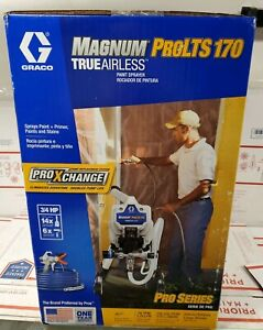 Graco Prolts 170 Electric Stationary Airless Paint Sprayer 17h198