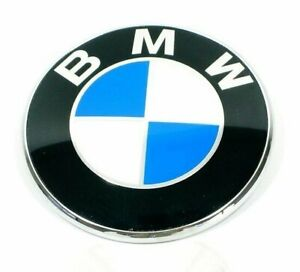 Bmw Genuine E46 3 series Convertible Bmw roundel Emblem For Trunk Lid New