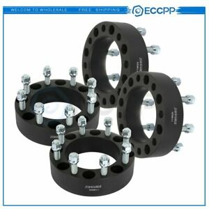 Eccpp 4 Pcs 2 8x170 14x1 5 Studs Wheel Spacers For Ford F 250 Super Duty