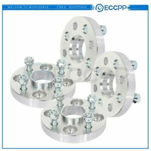 Eccpp 4 Pcs 20mm 4x100 12x1 5 Studs Wheel Spacers For Hyundai Accent For Kia Rio