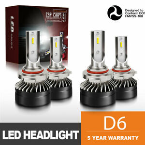 9005 9006 Combo Led Headlight High low Beam 6000k White 120w 24000lm Wholesale