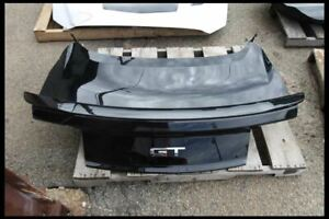 2015 2016 2017 Ford Mustang Gt Black Trunk Lid Hatch Tailgate W Spoiler